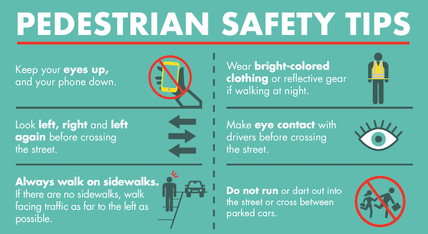 September is Pedestrian Safety Month