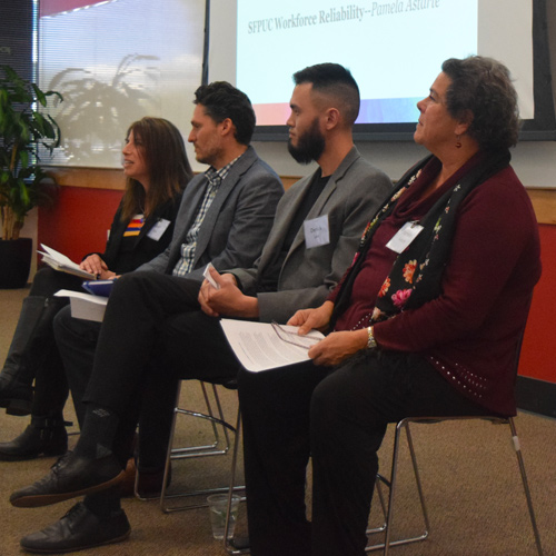 Expert Panel at Moving Forward Event, March 2019