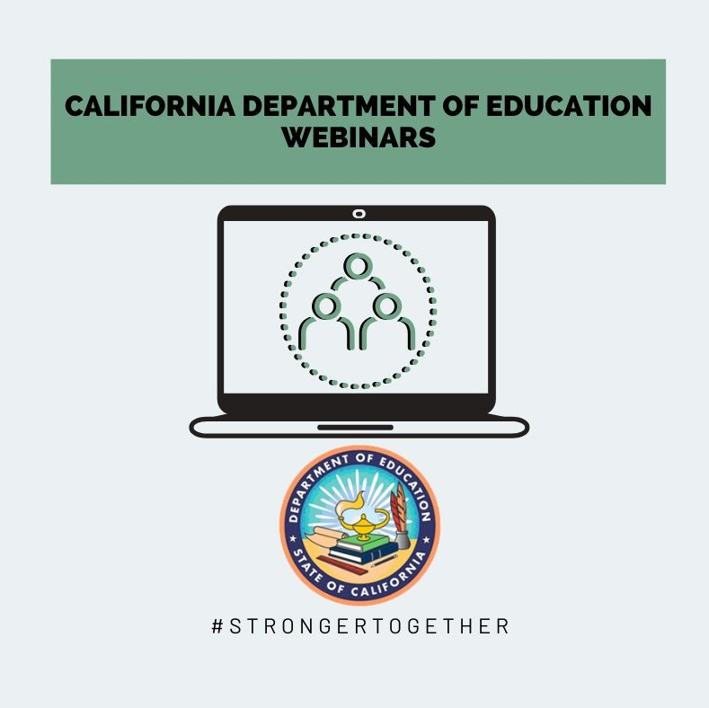 Comprehensive Support and Improvement Webinars